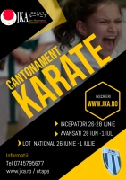 Cantonament KARATE pregatire AVANSATI